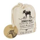 Мыло с молоком ослицы Olivos Donkey Milk для лица, тела и волос, 150 г