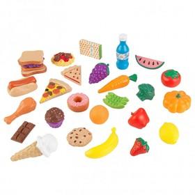 Игровой набор еды «Вкусное удовольствие» 30 элементов