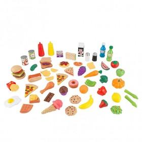 Игровой набор еды «Вкусное удовольствие» 65 элементов