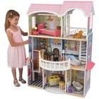 """Винтажный кукольный дом с мебелью """"Магнолия"""", 13 предметов"""