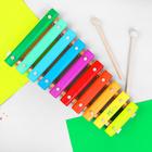 Ксилофон цветной, 10 тонов