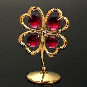 """Сувенир """"Цветок с лепестками, в виде сердца"""""""
