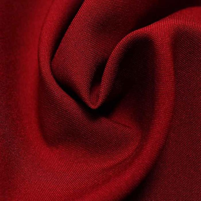 Ткань костюмная габардин, ширина 150 см, цвет бордо - фото 8442776