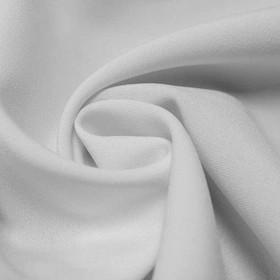Ткань костюмная габардин, ширина 150 см, цвет белый 260 г/п.м. Ош