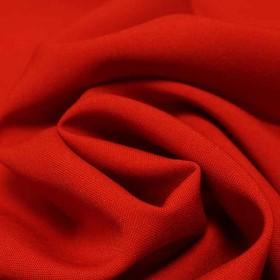 Ткань костюмная габардин, ширина 150 см, цвет алый