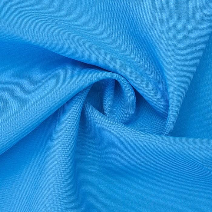 Ткань костюмная габардин, ширина 150 см, цвет бирюзовый 260 г/п.м.