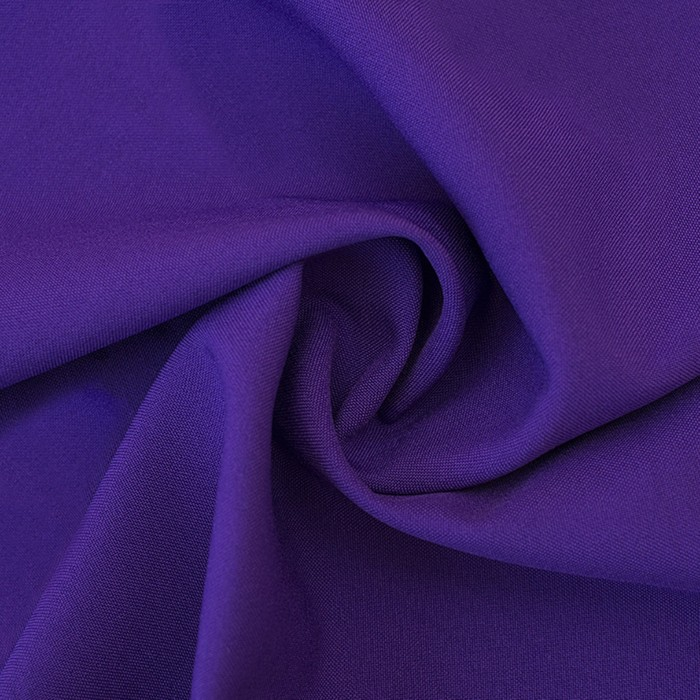 Ткань костюмная габардин, ширина 150 см, цвет фиолетовый 260 г/п.м.
