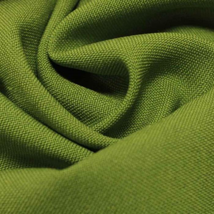 Ткань костюмная габардин, ширина 150 см, цвет светло-зелёный 260 г/п.м.