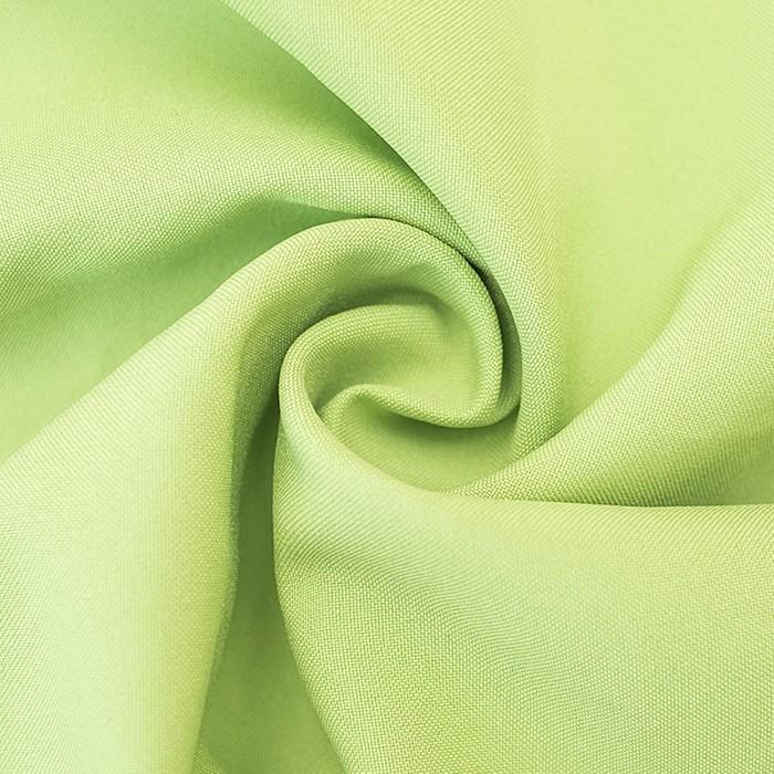 Ткань костюмная габардин, ширина 150 см, цвет салатовый 260 г/п.м.