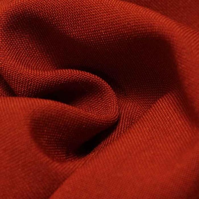 Ткань костюмная габардин, ширина 150 см, цвет терракотовый 260 г/п.м.