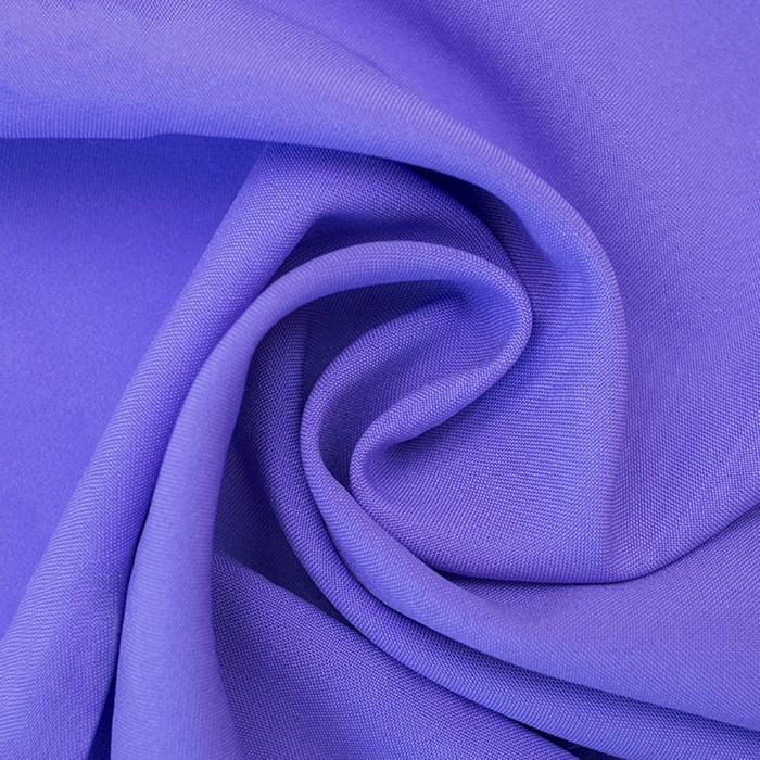 Ткань костюмная габардин, ширина 150 см, цвет сиреневый 260 г/п.м.