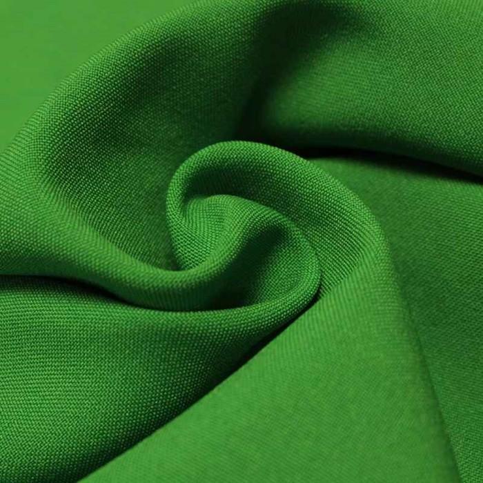 Ткань костюмная габардин, ширина 150 см, цвет зелёный 260 г/п.м.