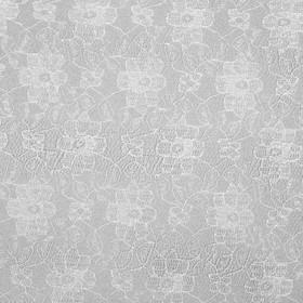 Полотно кружевное, гипюр, ширина 150 см, цвет белый Ош