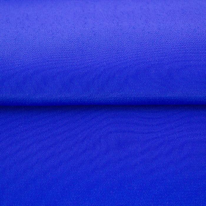 Ткань гладкокрашенная Креп кашибо, ширина 150 см, цвет электрик - фото 8442801