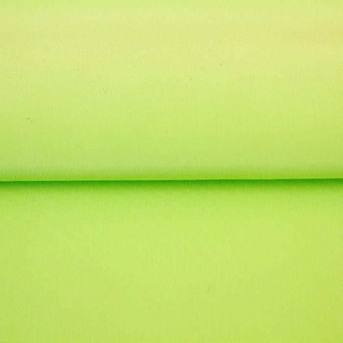 Ткань гладкокрашеная, креп кашибо, ширина 150 см, цвет салатовый