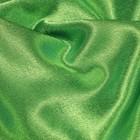 Ткань плательная, креп - сатин, ширина 150 см, цвет зелёный - фото 8442808