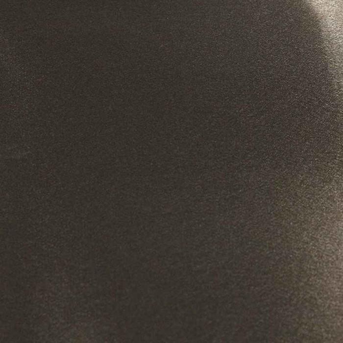 Ткань плательная, креп - сатин, ширина 150 см, цвет коричневый - фото 8442813