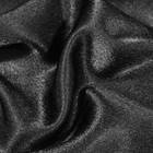 Ткань плательная, креп - сатин, ширина 150 см, цвет чёрный - фото 8442814