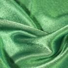 Ткань плательная, креп - сатин, ширина 150 см, цвет изумрудный - фото 8442816