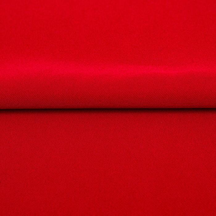 Ткань костюмная Пикачо, ширина 150 см, цвет красный 330 г/п.м.