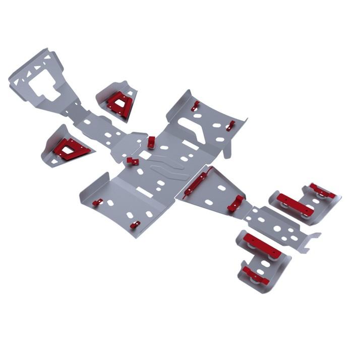 Комплект защит днища Rival для Artic Cat ATV TRV 1000 S 2011-2015, 444.7308.2