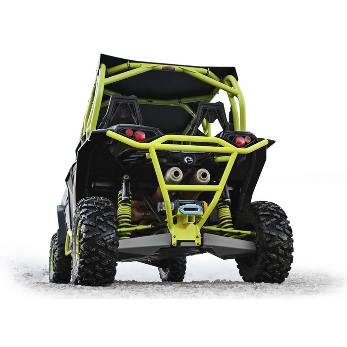 Бампер задний (с креплением лебедки, квадрат для фаркопа) Rival для BRP (Can-Am) Maverick 1000 DS / Turbo 2015-, 444.7229.1