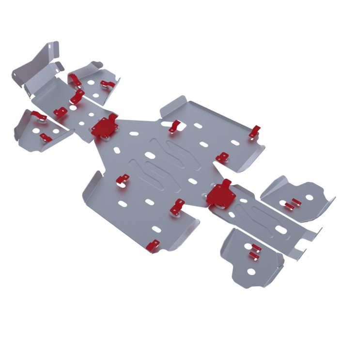 Комплект защит днища Rival для Cectek Kingcobra ATV EFI EVO 2011-, 444.7802.1