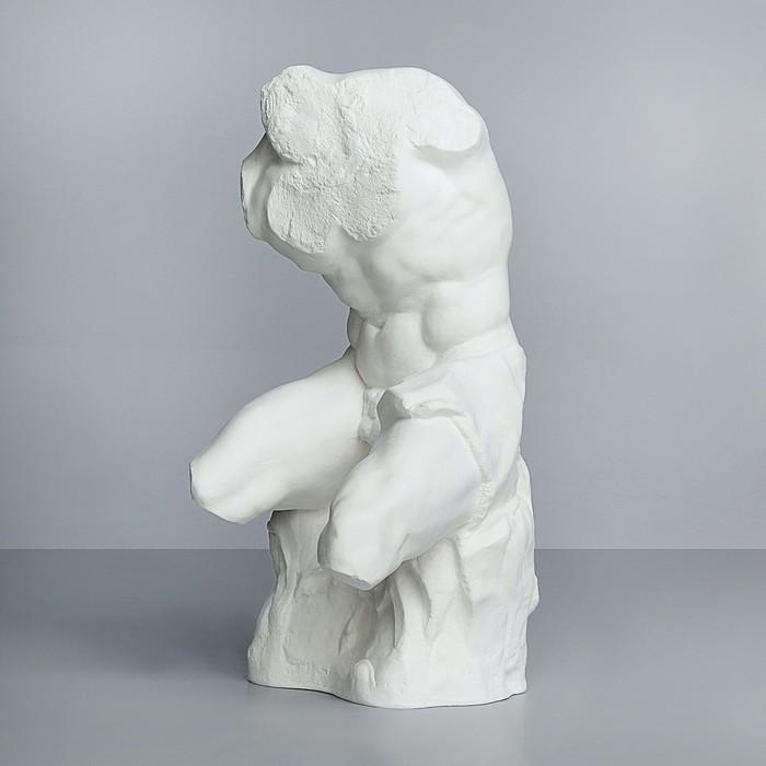 Гипсовая фигура «Торс Аполлон Бельведерский», 22х24х43 см