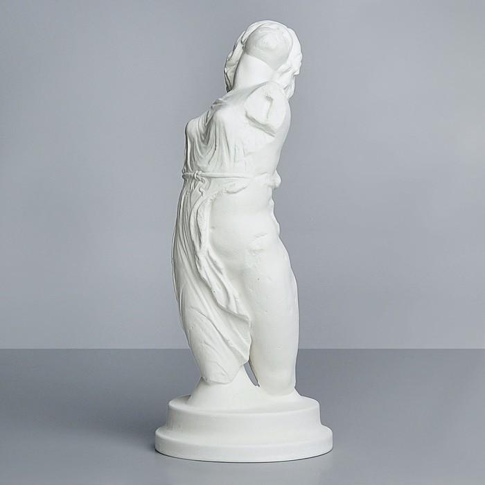 Гипсовая фигура, Торс - танцующая менада. Вакханка, 21.5х21.5х52 см