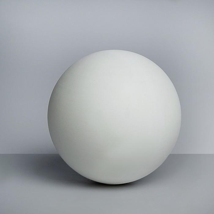 Геометрическая фигура, Шар «Мастерская Экорше», D15 см (гипсовая)