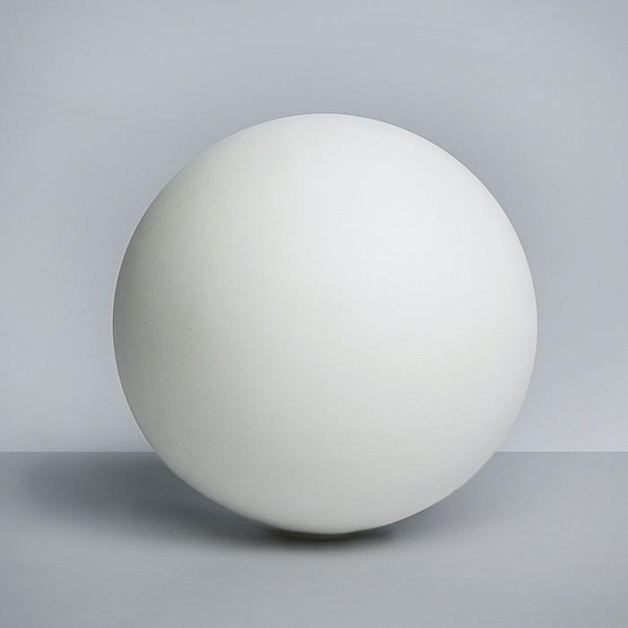 Геометрическая фигура, шар «Мастерская Экорше», 20 см (гипсовая)