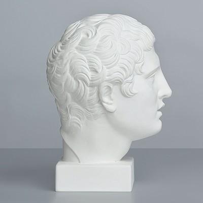 Гипсовая фигура, голова Дискобола «Мастерская Экорше», 21 х 23 х 34 см