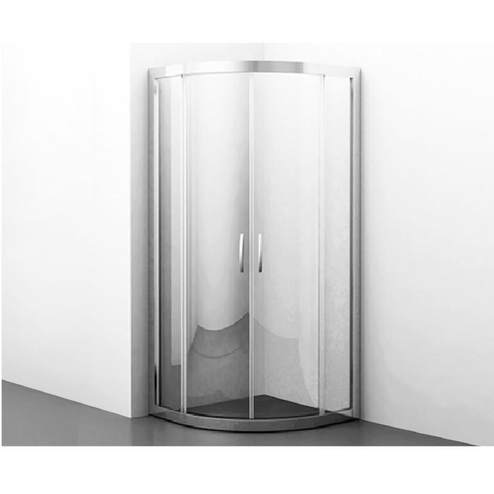 Душевой уголок Wasserkraft Isen 26S01, сектор, с раздвижными дверьми