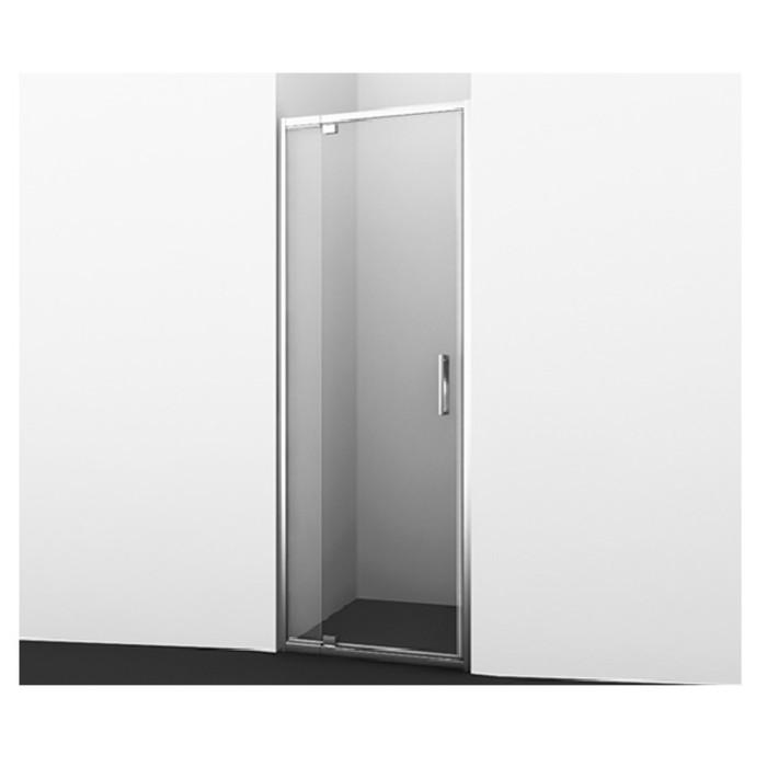 Душевая дверь Wasserkraft Berkel 48P04, распашная, универсальная