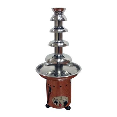 Фонтан Gastrorag CF30A, для шоколада, 5 ярусов, 5 кг, серебристый