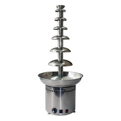 Фонтан Gastrorag CF41A, для шоколада, 7 ярусов, 8 кг, серебристый