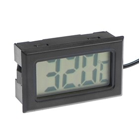 Термометр цифровой, ЖК-экран, провод 1 м
