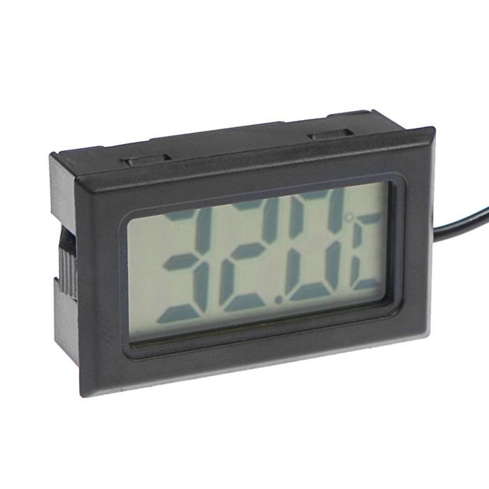 Термометр цифровой TORSO, ЖК-экран, провод 1 м