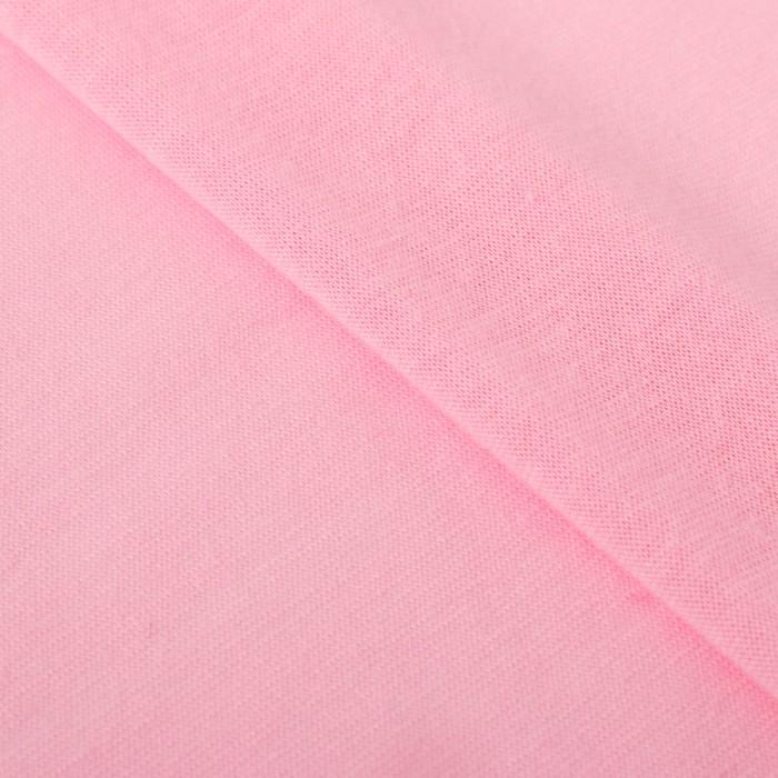 Ткань для пэчворка трикотаж «Нежно розовый», 50 х 50 см