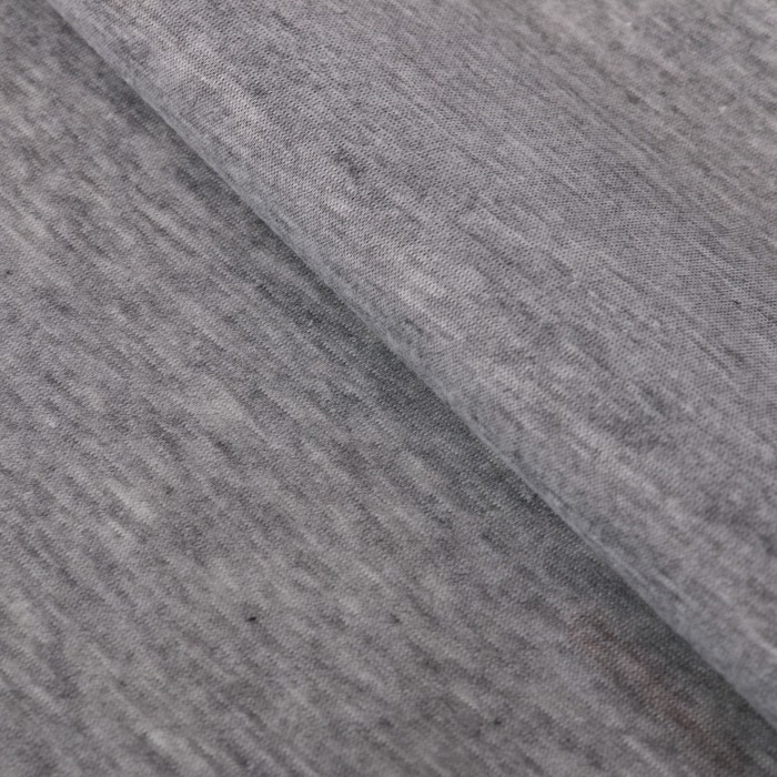Ткань для пэчворка трикотаж «Пепельно-серый», 50 х 50 см