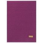 Ткань на клеевой основе «Фиолетовая в горошек», 21 х 30 см - фото 695297