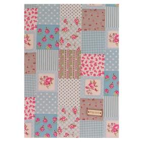 "Fabric adhesive ""Patchwork"", 21 x 30 cm"