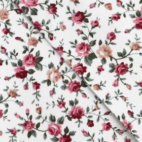 "Fabric adhesive ""Netocny bouquet"", 21 x 30 cm"