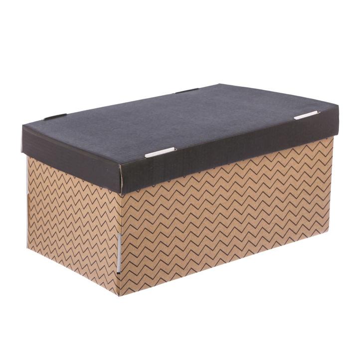 Складная коробка «Геометрия», 26 х 14 х 10 см