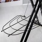 Доска гладильная «Sophy Корица», 123×46 см, металл, регулируемая высота до 100 см - фото 4636139