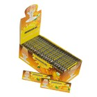 Rolling papers with the scent of Mandarin, set of 50 sheets, 8x2.5 cm