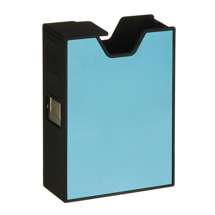 """Cigarette case with electronic lighter """"Virginia"""", miks, USB, 9x9 cm"""