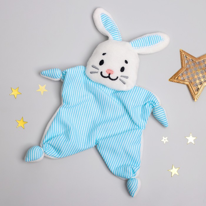 Комфортер для новорождённых «Зайчонок Бубенчик»