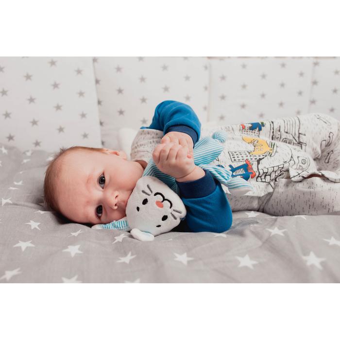 Игрушка для новорождённых «Зайчонок Бубенчик»