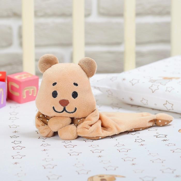 """Игрушка для новорождённых """"Мишутка Пряник"""""""